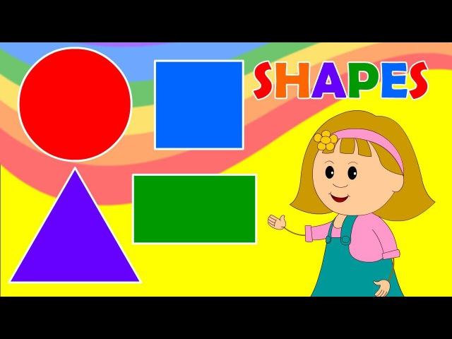 Learn about Shapes with Elly - Fun Educational for Babies, Toddler, Kindergarten Kids