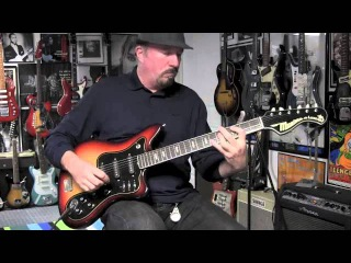 Musima Deluxe 25 Electric Guitar Demo