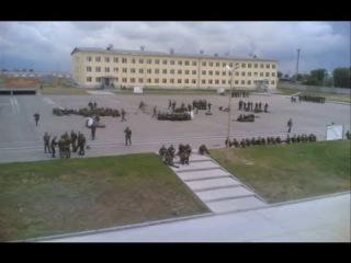 Армия России Зам командира бригады Проводит развод!