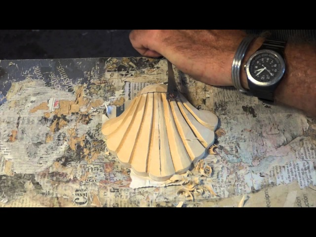 How To: Carve A Scallop Shell