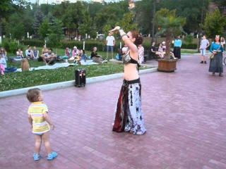 Харинама . Танец Александры Пушновой