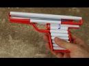 Как сделать простой пистолет airsoft - (бумажный пистолет)