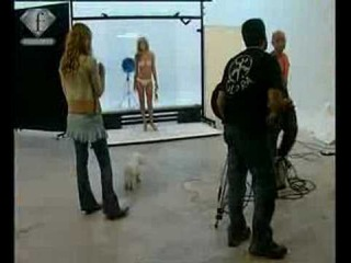 fashiontv | FTV.com - BACKSTAGE WITH MODELS DANIELA URZI FOR REVISTA VANIDADES FEM 2005