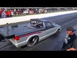 Larry Larson 6.16 pass here Drag Week 2014 Tulsa Raceway Park.. Dinger Emanuel