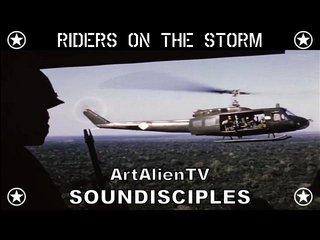 The Doors Riders on the Storm Soundisciples version Vietnam War Footage ArtAlienTV 1080p