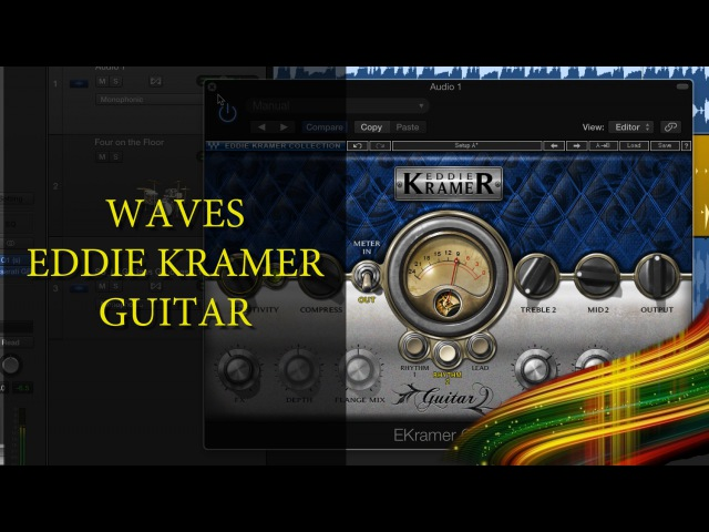 Обзор плагина WAVES EDDIE KRAMER GUITAR