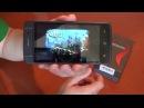 T908 телефон с вращающейся камерой распаковка