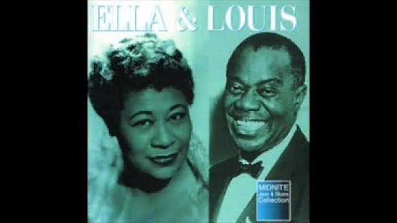Ella Fitzgerald Louis Armstrong - April in Paris.