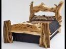 Необычные деревянные кровати своими руками