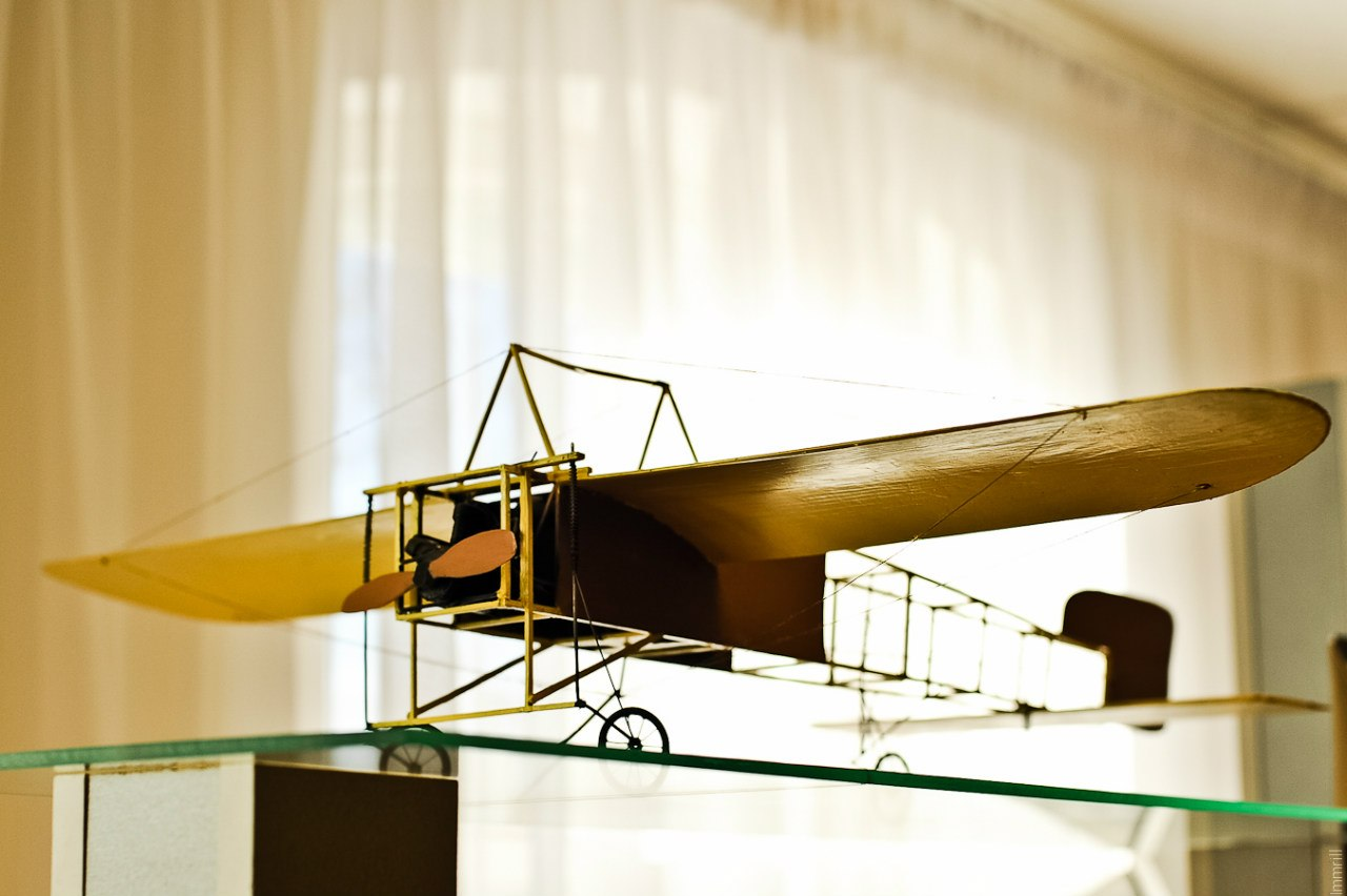 Макет Блерио в доме-музее Каменского