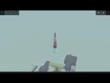 Besiege 2-х ступенчатая ракета