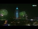 Новогодний фейерверк в Дубае 2016