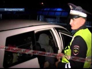 Пьяная автолюбительница напала на сотрудников ГАИ