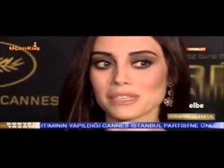 Cansu Dere #CannesdaGuzellik 14 05 2015