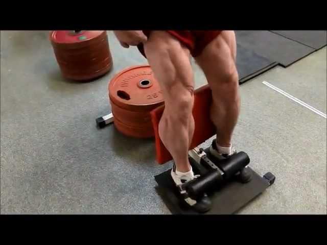 Тренировка ног без нагрузки на спину Г. Зобач персональный тренинг