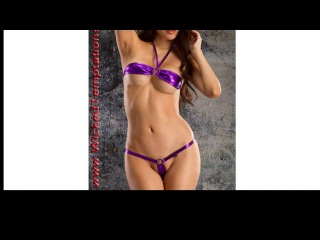 1-24 Sexy Bikinis Micro Bikinis Two Piece Thong G-String Bottoms Halter Push-up Triangle Bikini Tops