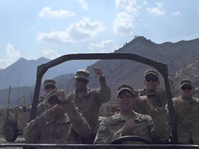 Call Me Maybe Cover - Kunar, Afghanistan - US Army Soldiers