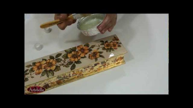 Artebella Ahşap Projeleri - Ebruli - Eğitmen Gülçin Göksu