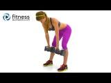 34-минутная тренировка для ягодиц и бедер: кардио, плиометрика, силовая и пилатес для нижней части тела. 34 Min Butt and Thigh W