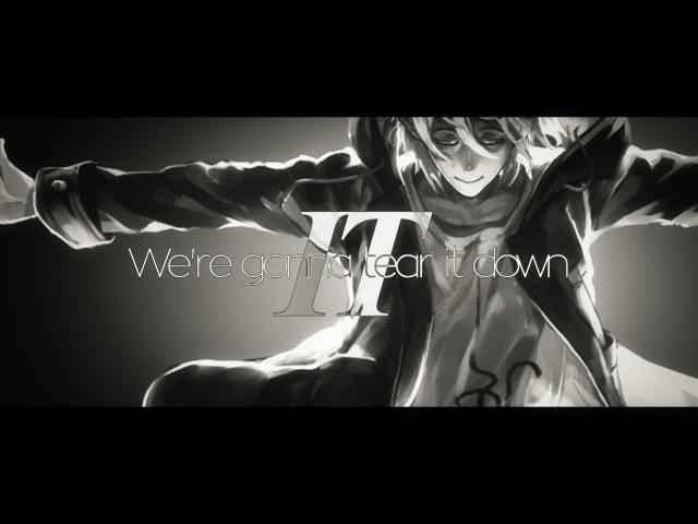 ...Tear it down.    KomaHina