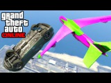 GTA 5: Online - Cargo Plane Stunts / Free Mode Fun / Demolition Derby | 10th Nov. 2014