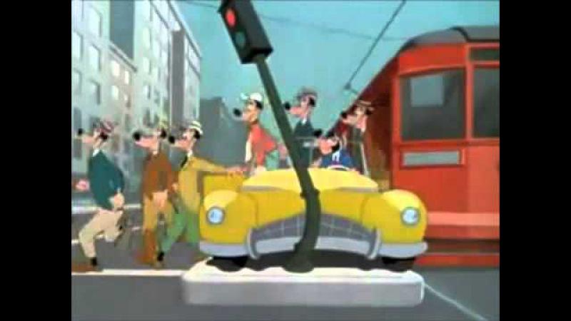 Страсть к мотору, Мультфильмы для детей. Disney cartoons. Goofy Cartoons.