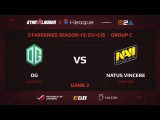 OG vs NaVi, StarSeries 13 EU+CIS, Game 2