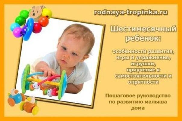 игрушки на 6 месяцев мальчику