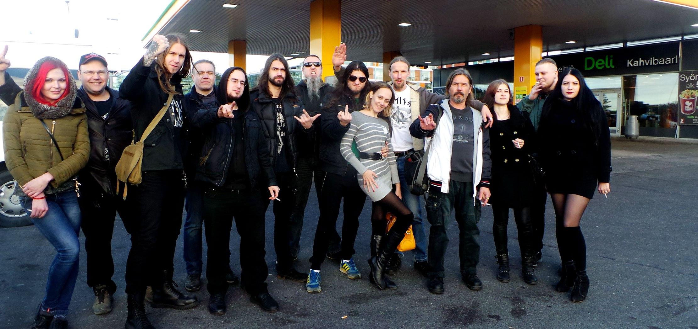 Коррозия Металла в Хельсинки 16 октября 2015