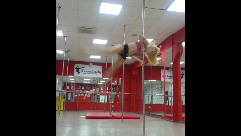 Pole sport!! Nirvana - Smells Like Teen Spirit