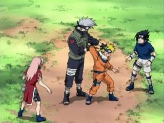 Naruto - Episode 4 : l'épreuve de survie 3
