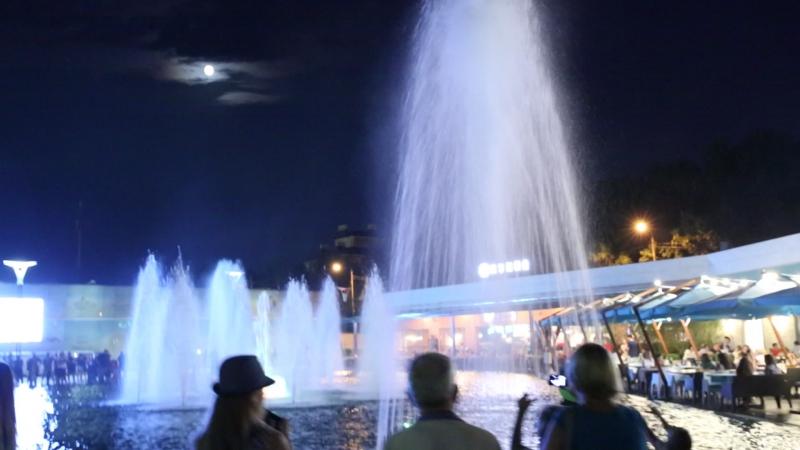Музыкальный фонтан Аркадия Одесса 29 июля 2015г