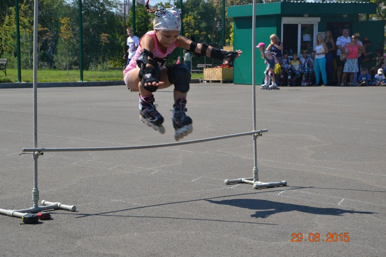 Прыжки через планку в высоту, десткие соревнования, Донецк, парк Победы