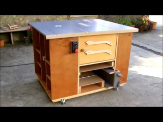 Home Made Router Table & Table Saw