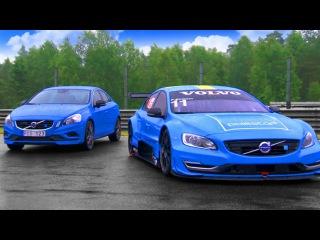 Volvo S60 Polestar: Race Car Vs Road Car - Fifth Gear