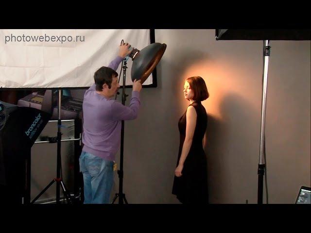 Портрет в студии Мастер класс Игоря Сахарова