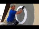 Проект Мокрый фасад секреты монтажа Декоративный элемент в виде кольца
