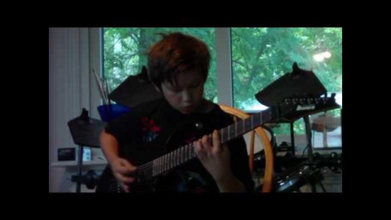 Children Of Bodom Needled 24 7 Guitar cover