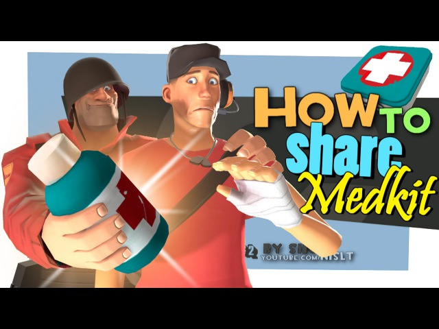 TF2: How to share Medkit [FUN]