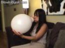 Balloon Blow To Pop