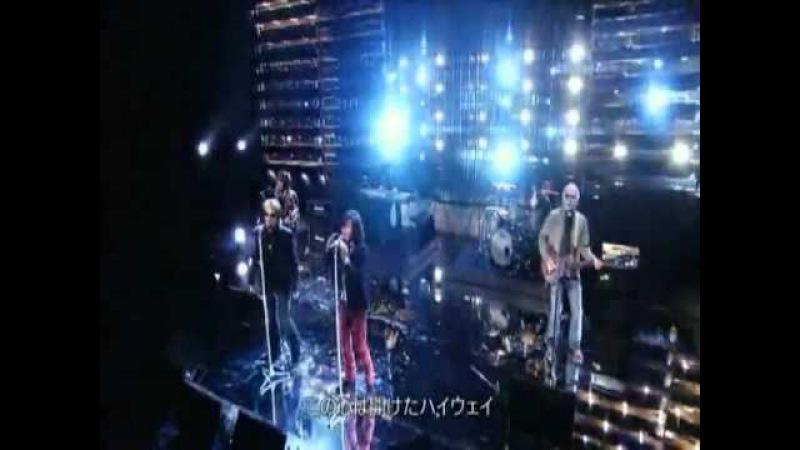 Bon Jovi on Japanese TV show ~We Werent Born To Follow Its My Life ~ with Takuya Kimura