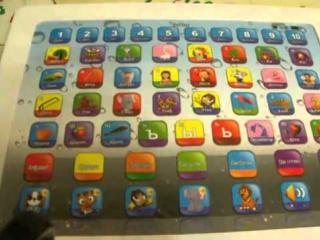 Видеообзор детская игрушка - Обучающий детский планшет. Очень полезен! (kidtoy.in.ua)