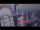 Летающие герои Бэтмен и Супермен