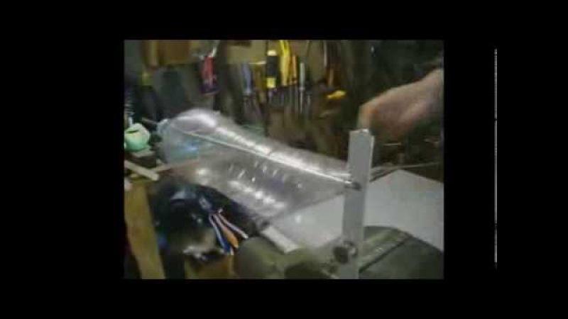 Как сделать веревку из пластиковой бутылки. ПЭТ.