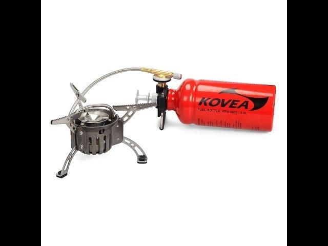 Мультитопливная горелка Kovea Booster 1. Multy-fuel stove Kovea Booster 1