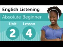 English Listening Comprehension Baking a Cake in America