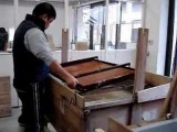 Papermaking of Japanese paper (Tosa washi)