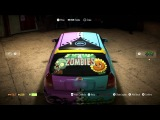 Plants vs. Zombies Garden Warfare 2: Need For Speed Custom Car Time Lapse