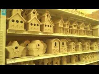 Экскурсия в магазин Michaels: поделки и з дерева