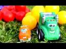 Мультики про машинки: Чак и его друзья! Игры на улице - Шарики. Учим цвета. Cartoons for children
